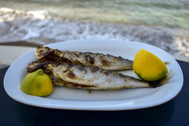 Grilled fish and lemon (Thinkstock/PA)