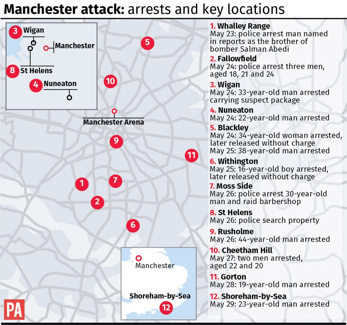 Members of Manchester bomber's network could still be at large - Amber Rudd