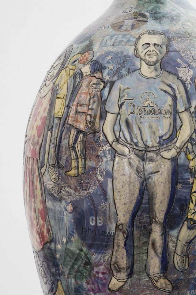 Grayson Perry Crafts Brexit And Remain Vases That Look Remarkably