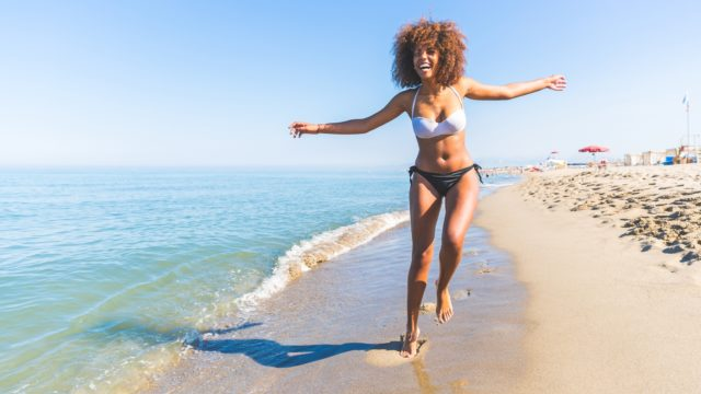 Protection from sun damage is important for people with dark skin too (Thinkstock/PA)