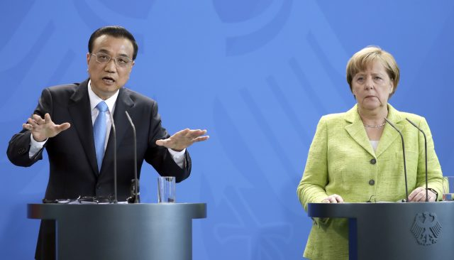Germany and China vow to deepen ties amid Trump concerns