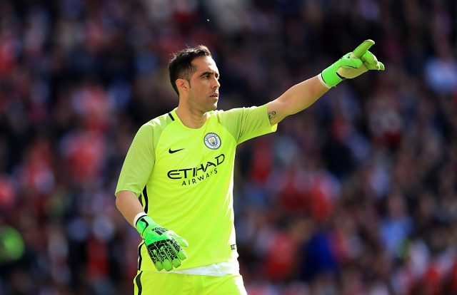 Claudio Bravo has struggled to perform at Manchester City