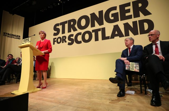 SNP could deny 'arrogant' Tories a Westminster majority - Nicola Sturgeon