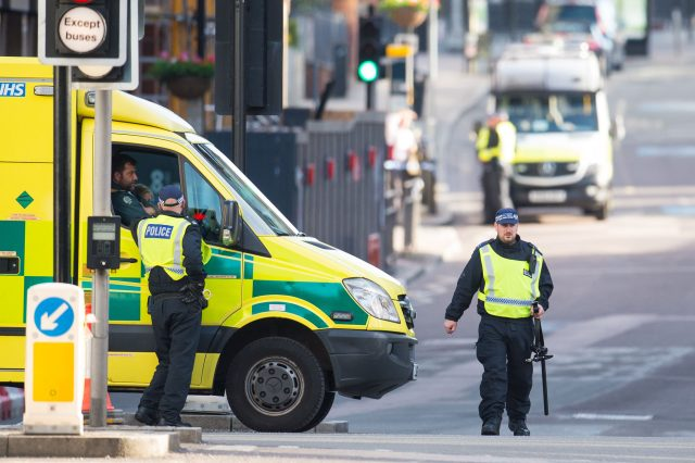 London Bridge Closed Following Reports That Vehicle Plowed Into Pedestrians