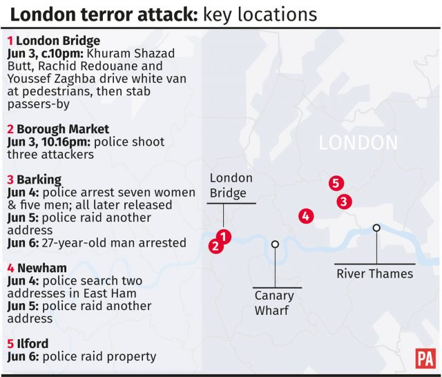 Police face scrutiny as third London attacker named