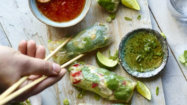 Want something super fresh and crunchy? Try these Vietnamese summer rolls (***PHOTOGRAPHER TO INSERT/ PA)