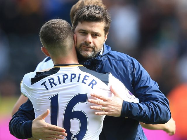 Kyle Walker staying mum on whether he'll leave Tottenham Hotspur this summer