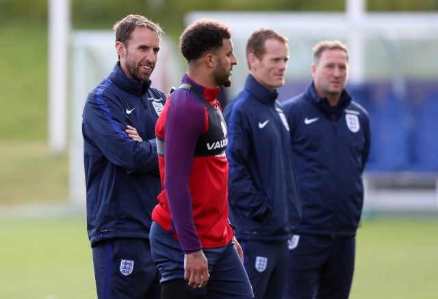 Kyle Walker fully focused on England task despite ongoing transfer speculation