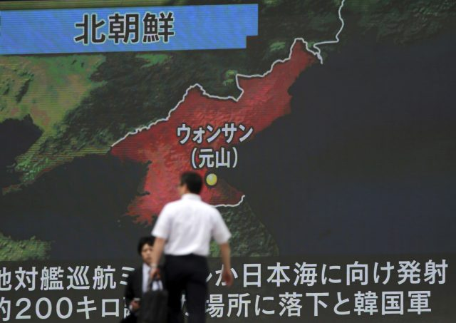 South Korea leader warns North after latest missile launch