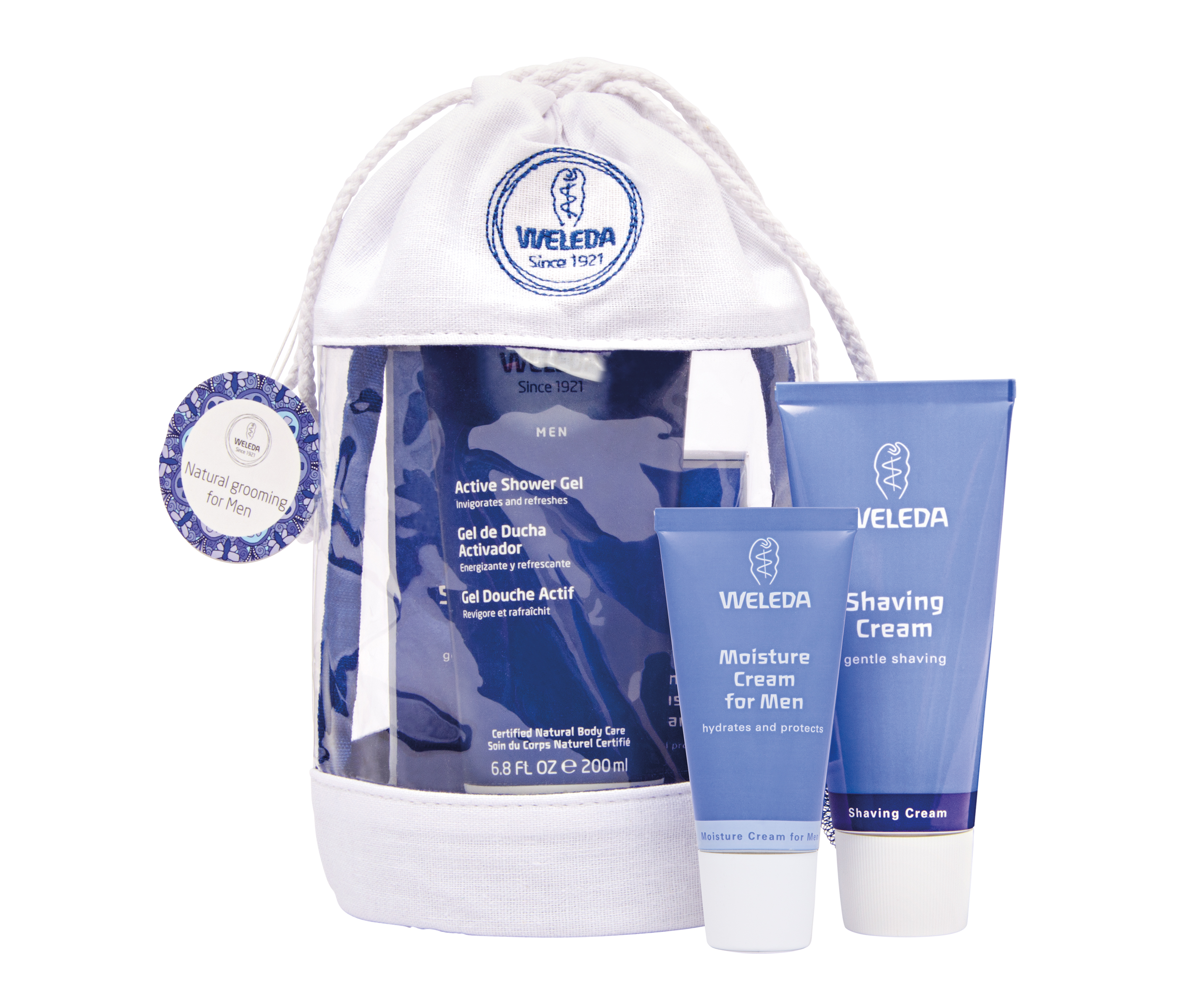 Weleda mens gift set