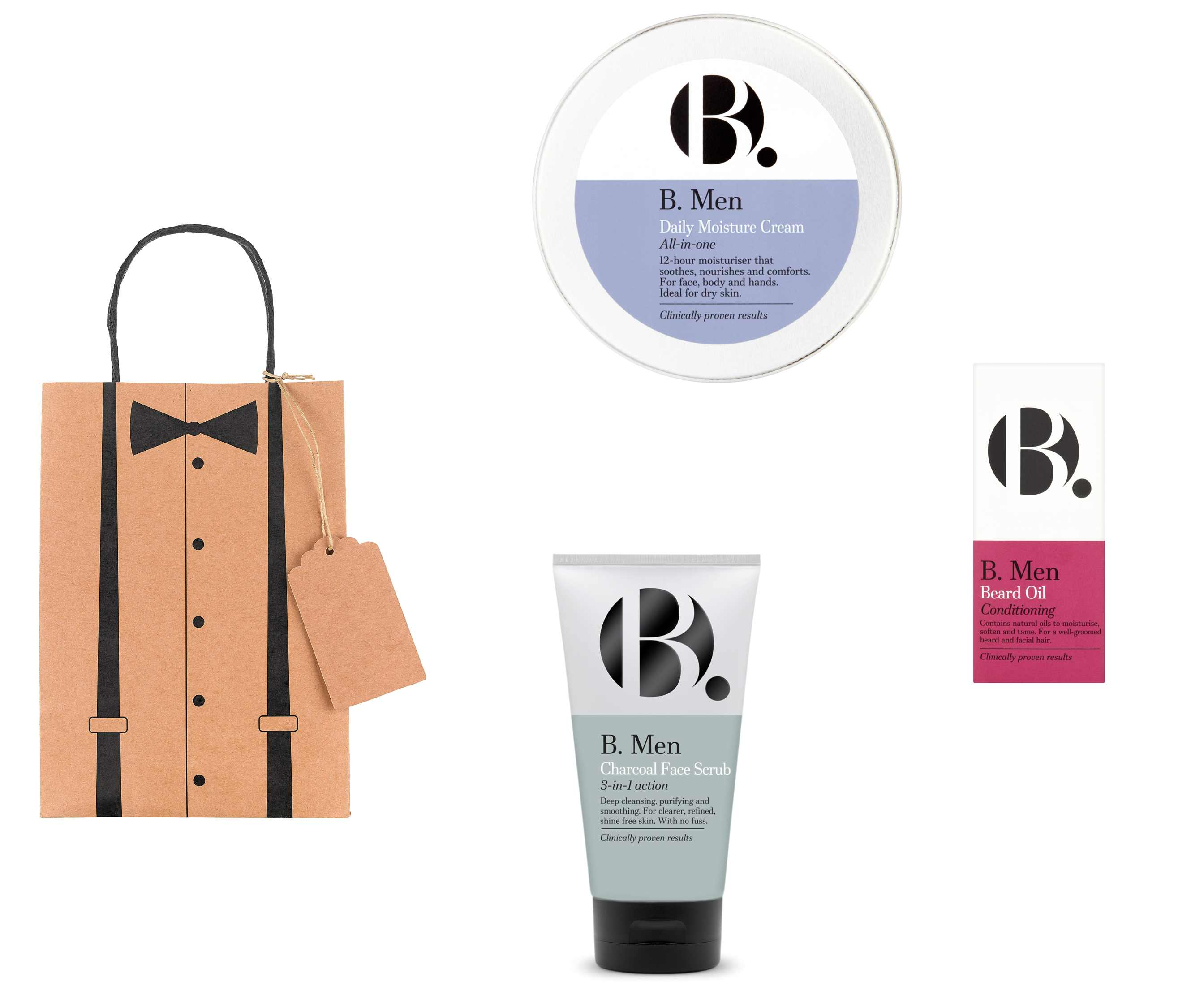 B. Men products and father's day gift bag