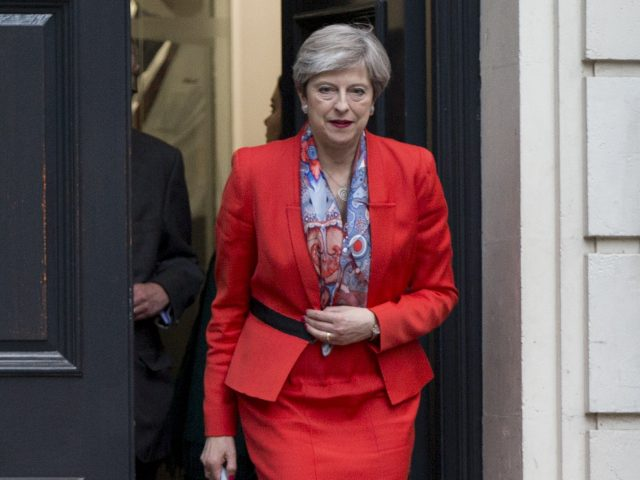 May to form minority 'government of certainty'