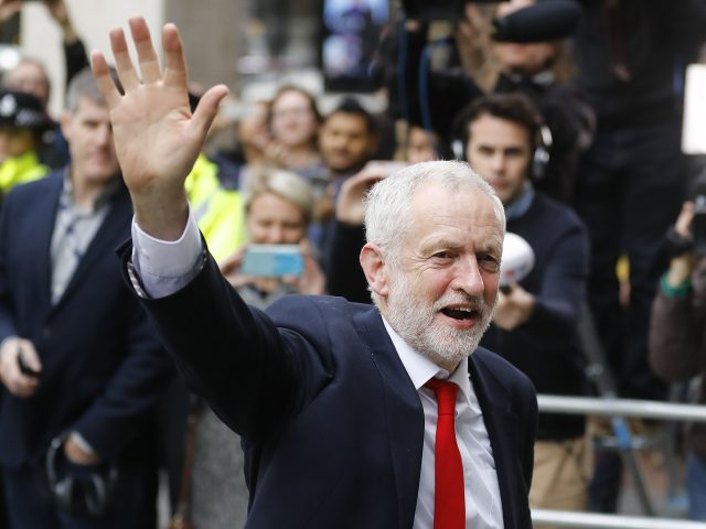 Jeremy Corbyn enjoys kickabout as politics takes a backseat