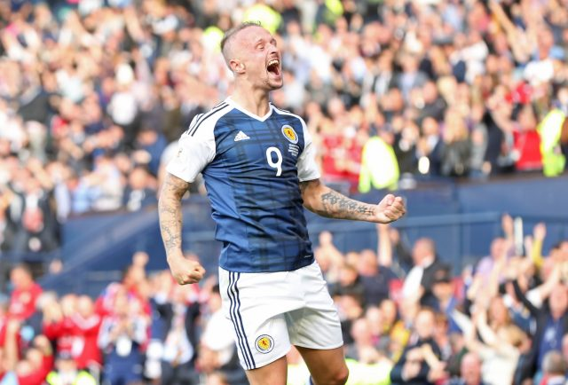 Leigh Griffiths bagged a brace for Scotland