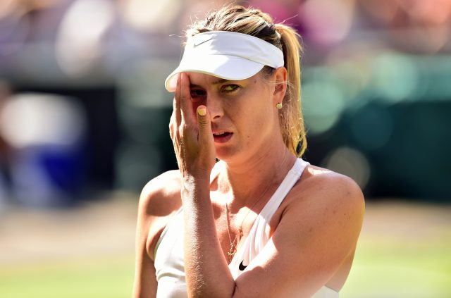 Injured Sharapova pulls out of Wimbledon, grass circuit