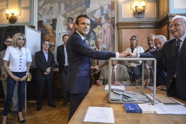Macron's party headed for big French parliamentary majority