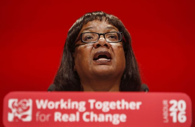 Diane Abbott has revealed that she has Type 2 diabetes