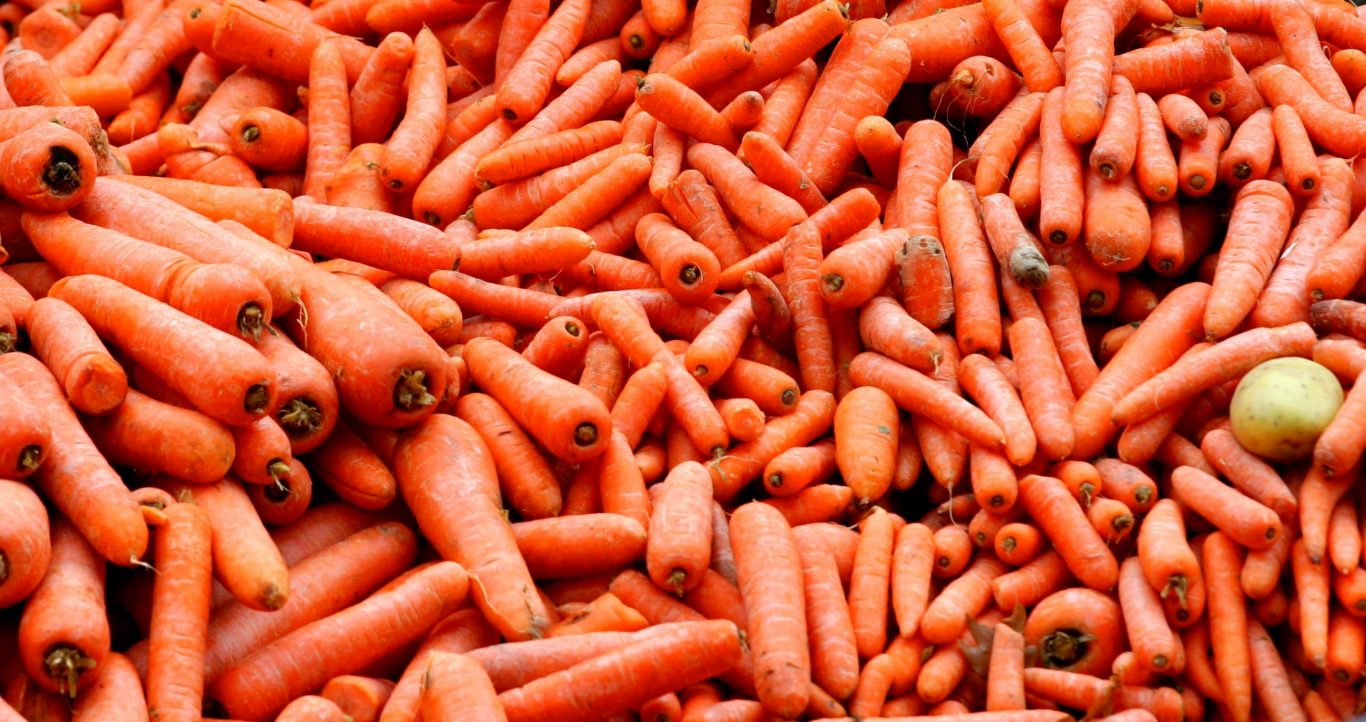 Carrots came joint second in the poll (Peter Byrne/PA)