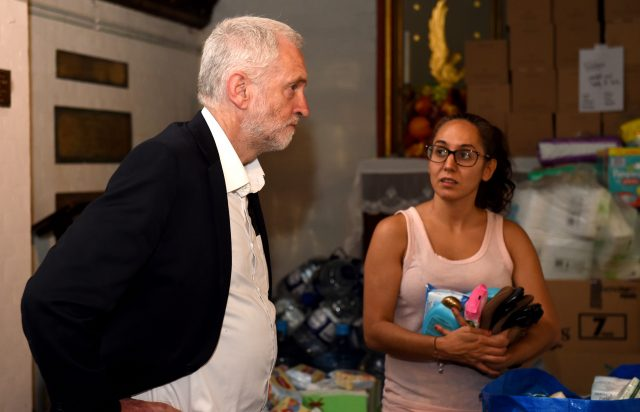 Truth will come out about Grenfell Tower fire, vows Jeremy Corbyn