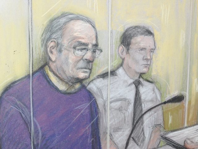 Ex-weatherman Fred Talbot jailed for four years