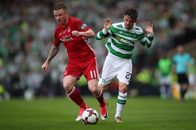 Celtic sign Hayes from Aberdeen