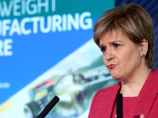 Ms Sturgeon urged a more inclusive approach to Brexit talks (Jane Barlow/PA)