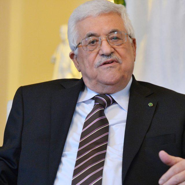 Palestinian President Mahmoud Abbas (PA)