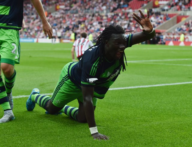 Bafetimbi Gomis is on his way out of Swansea