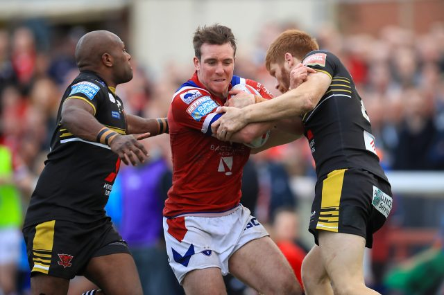 Wakefield's Matty Ashurst has been charged by the RFL