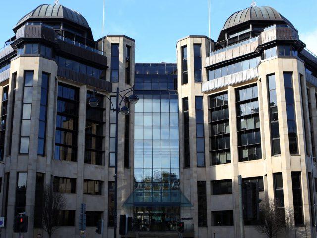 The Standard Life building on Lothian Road in Edinburgh (David Cheskin/PA)