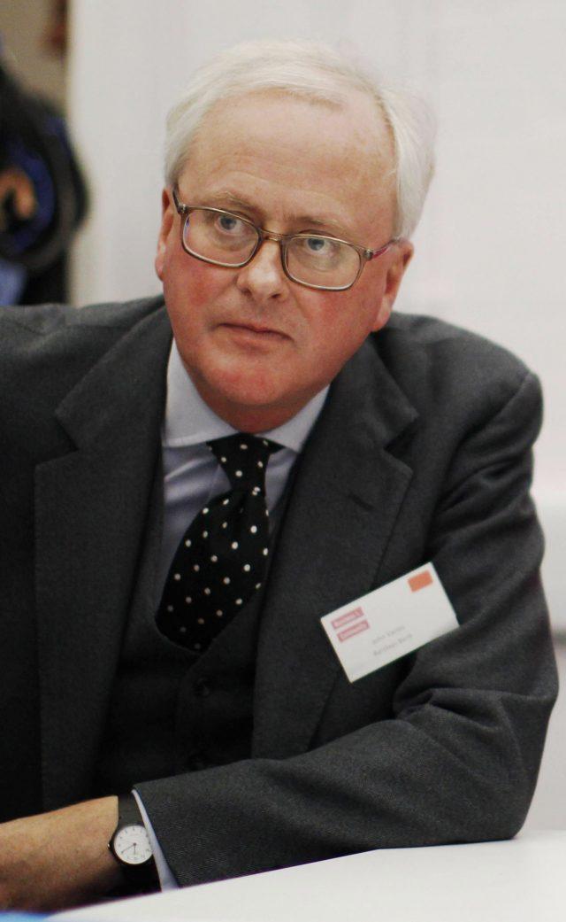 Former Barclays Bank chief executive John Varley