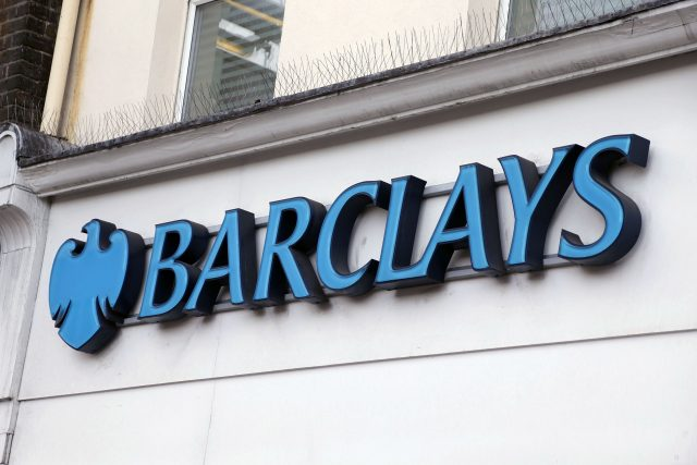 Barclays said it is