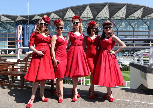 The Toostsie Rollers during day one of Royal Ascot