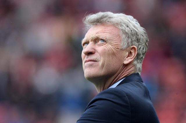 Manager David Moyes parted company with the club (Owen Humphreys/PA)