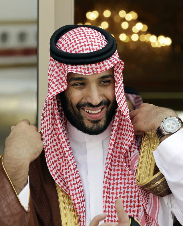 Saudi king upends royal succession, names son as 1st heir