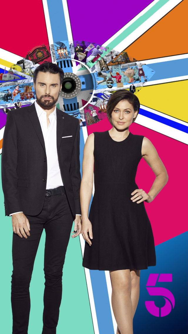 Big Brother presenters Rylan Clark-Neal and Emma Willis