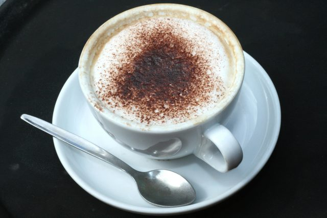 A general view of a cappuccino