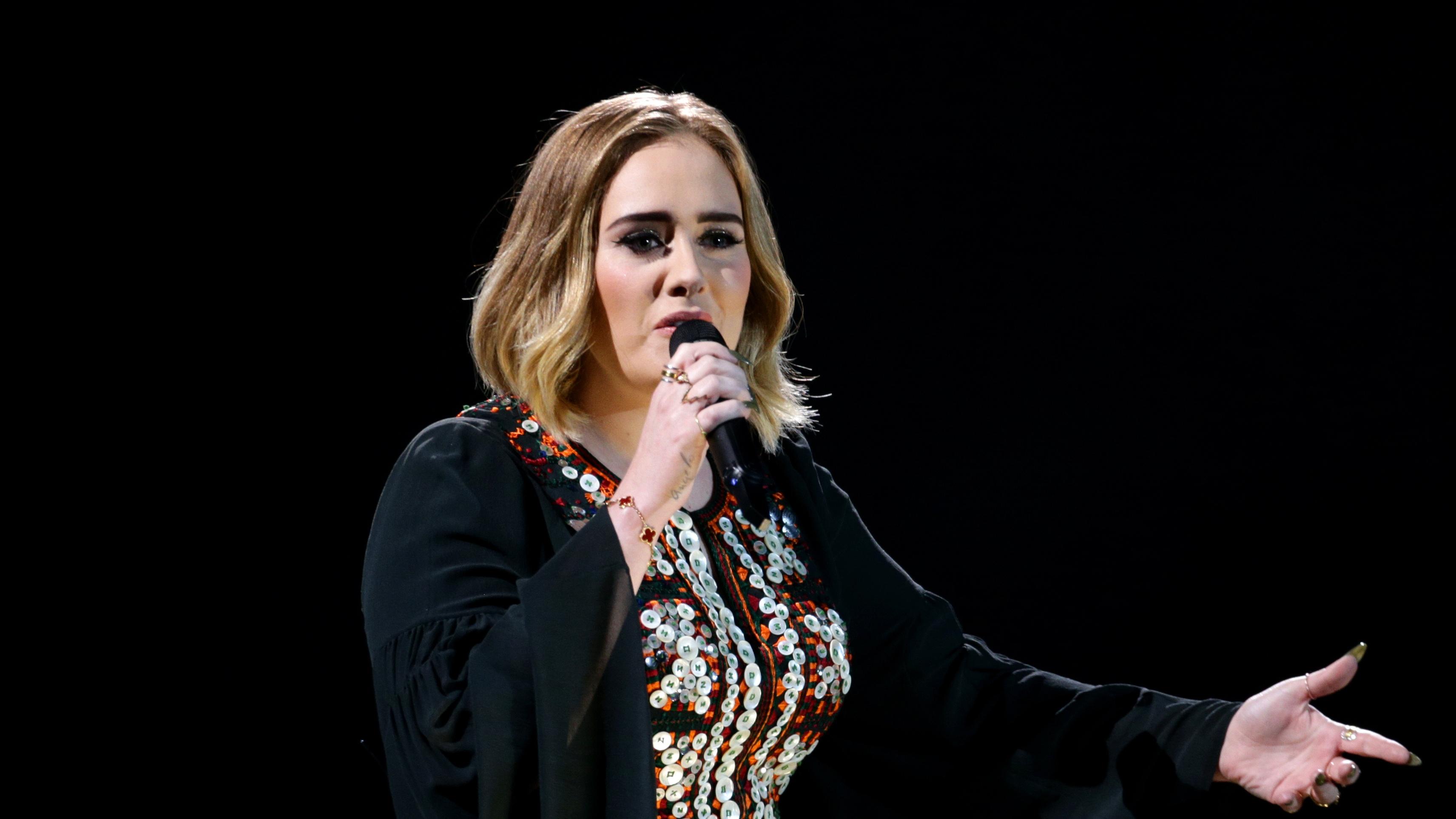 Adele (Yui Mok/PA)