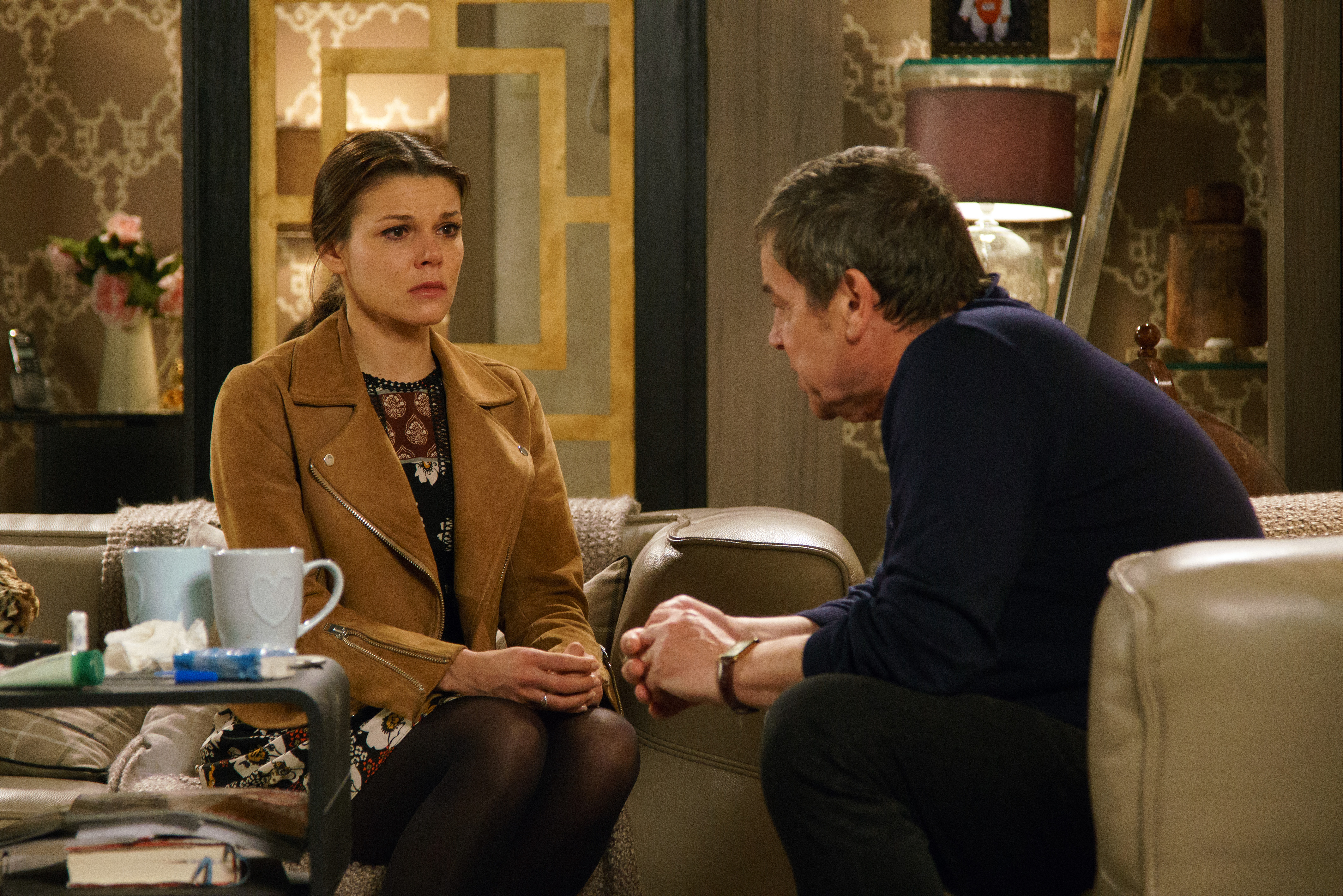 Coronation Street Kate and Johnnny