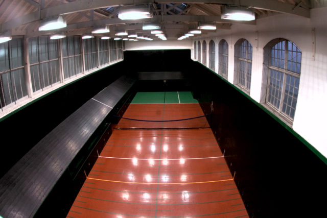 A Real Tennis court