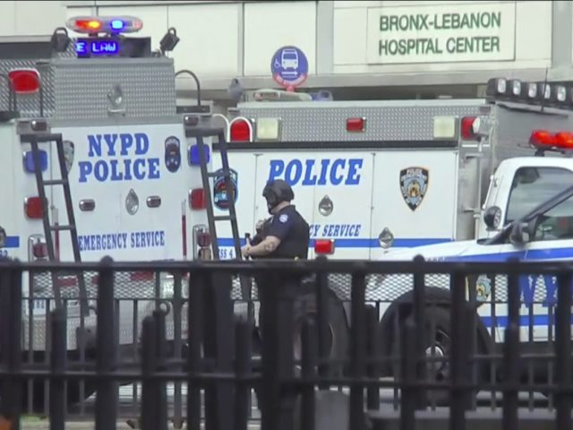 Rifle-wielding man shoots 2, kills 1 at Bronx Lebanon Hospital