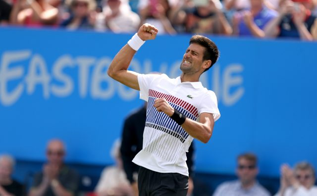 Novak Djokovic and Karolina Pliskova triumph at Devonshire Park
