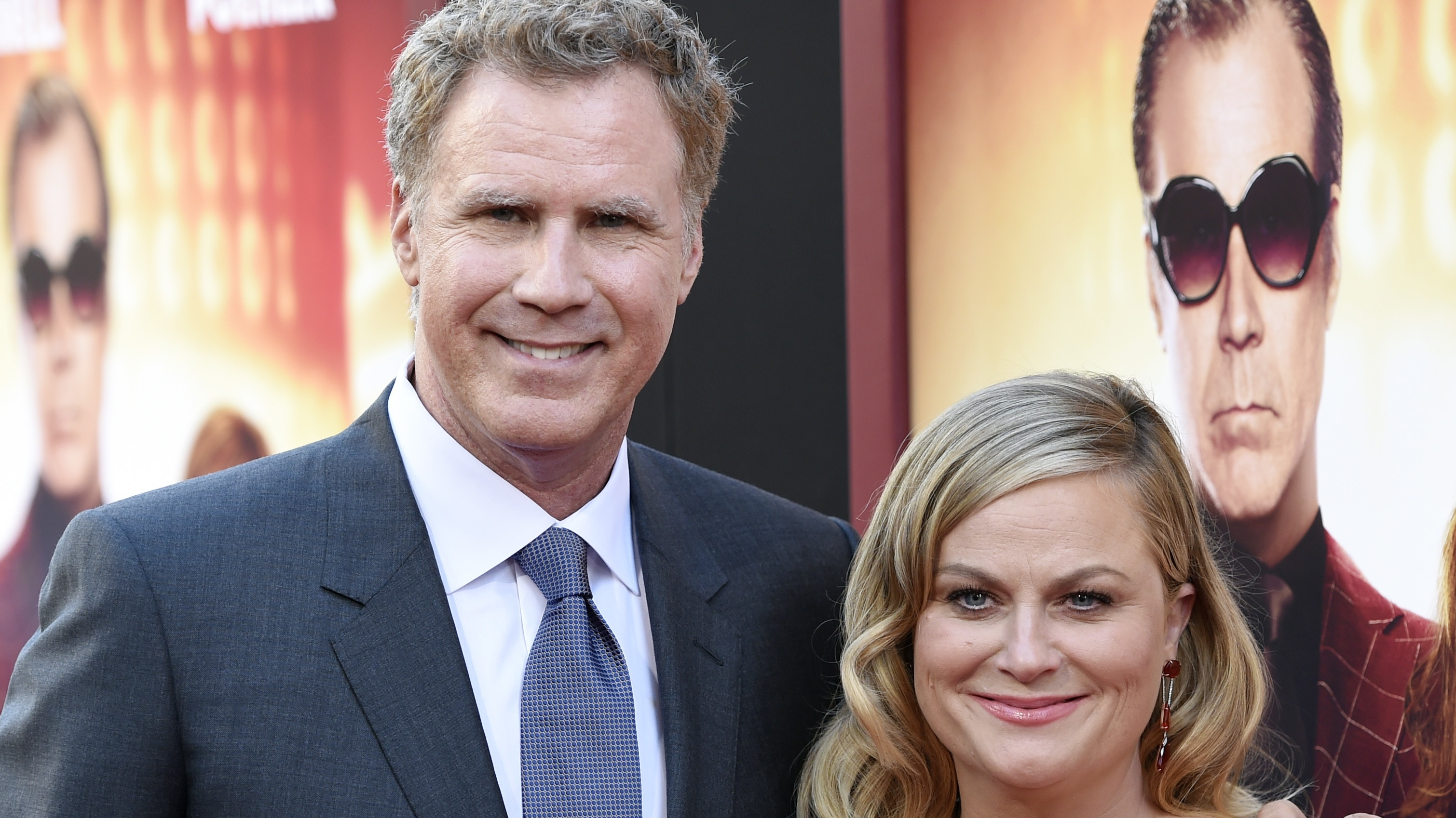 Will Ferrell and Amy Poehler at The House premiere