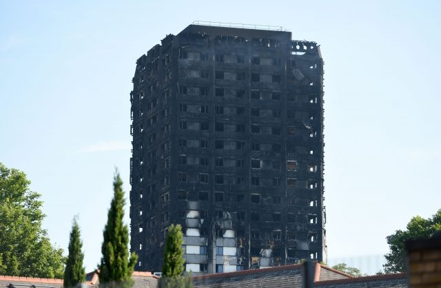 File photo dated 15/6/2017 of Grenfell Tower in west London as victims of the fire could boycott the inquiry into the disaster if the proposed scope is not widened, campaigners have said.