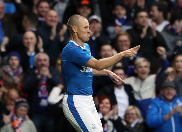 Kenny Miller scored Rangers' goal in the first leg