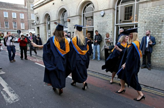 Three-quarters of graduates will never pay off their student debt