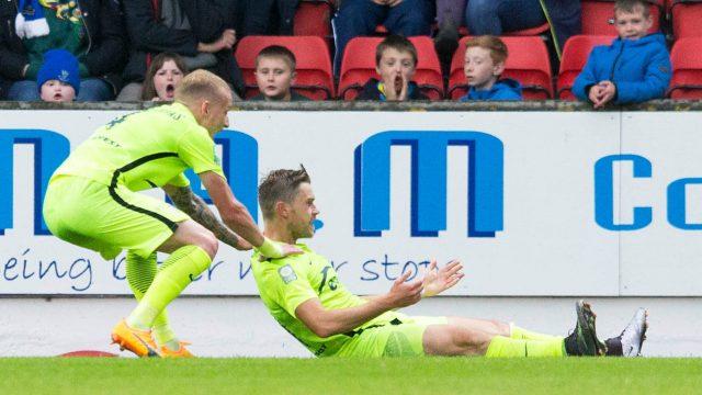 Vaidas Silenas scored Trakai's second goal in their 2-1 win last week