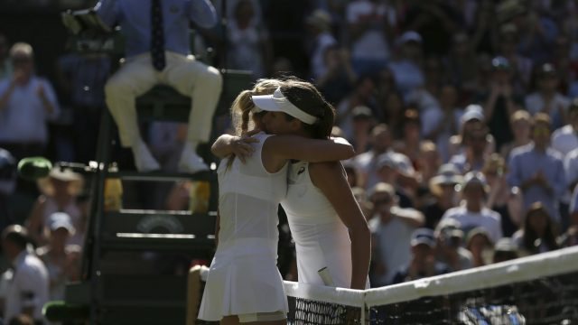 Konta faces tough rematch with Vekic in Wimbledon second round