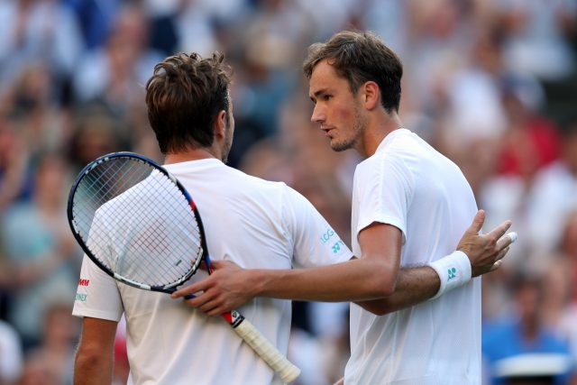 Wimbledon 2017: Stan Wawrinka stunned by Daniil Medvedev in first round