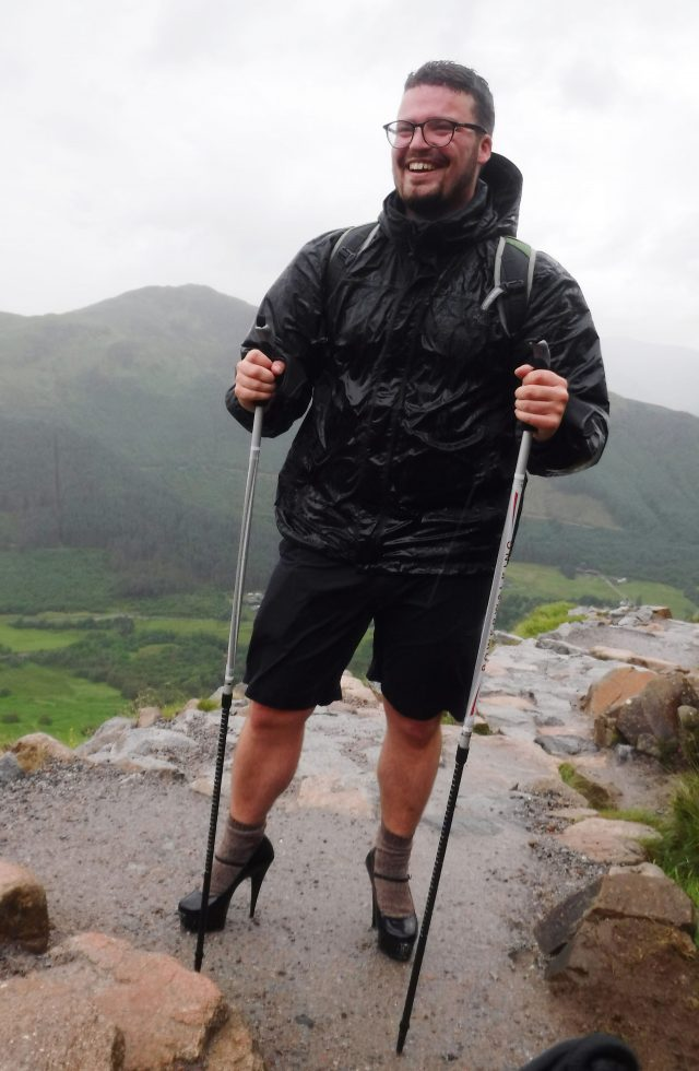 The student finally gave up two-thirds of the way up Ben Nevis (Callum MacKenzie Allen/PA)